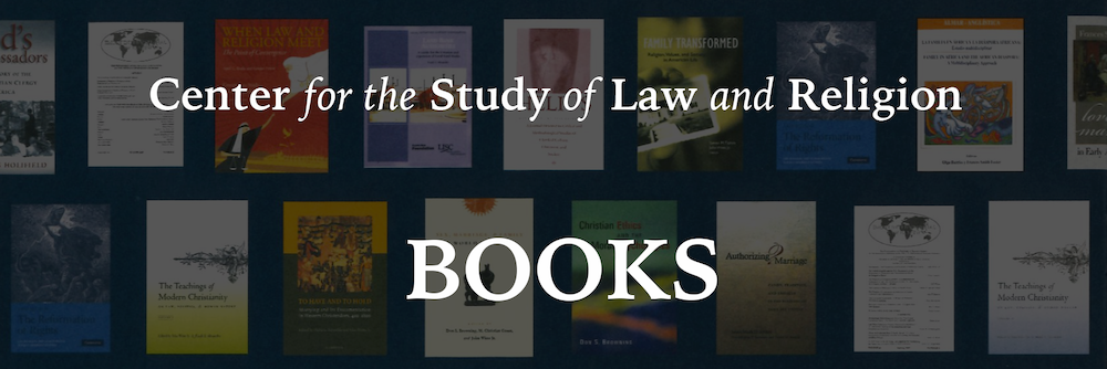 Center for the Study of Law and Religion Books