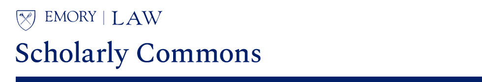 Emory Law Scholarly Commons