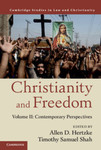 Christianity and Freedom, Volume 1: Contemporary Perspectives
